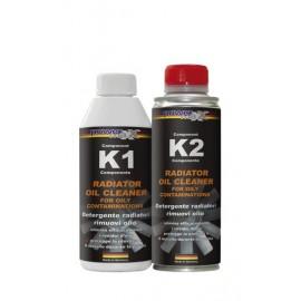 Radiator Oil Cleaner 2-components Очиститель системы охлаждения от масла BLUECHEM