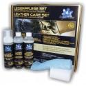 """Защитный и очищающий набор """"BlueChem"""" для кожи. Leather Care Set"""