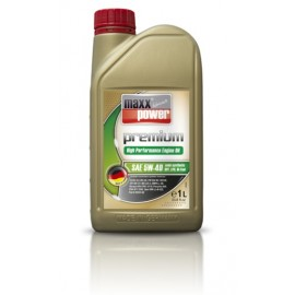 Масло моторное 5W40 maxxpower premium engine oil 5W-40 semi synthetic (DPF, LPG, BI-Fuel)