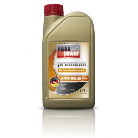 maxxpower premium proMoto 10 W 40 Special High Performance Oil