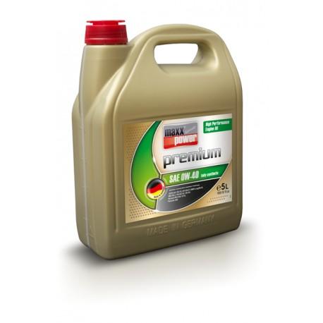 maxxpower premium engine oil 0W-40 synthetic