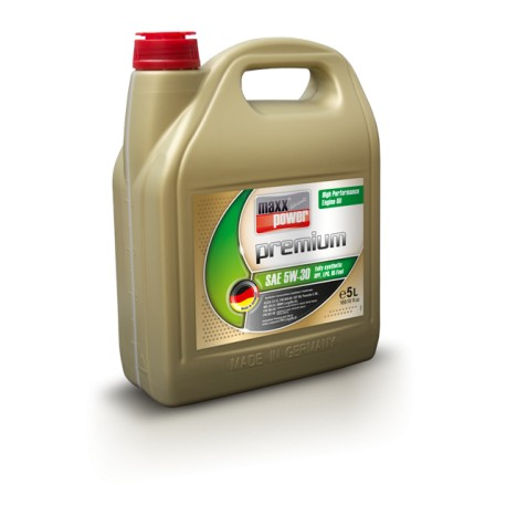 Масло моторное 5W30 maxxpower premium engine oil 5W-30 fully synthetic (DPF, LPG, BI-Fuel)