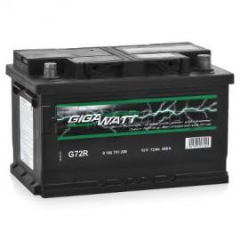 Аккумулятор 72AH 680A(EN) клемы 0 (278x175x175) S4 007