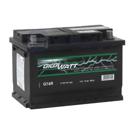 Аккумулятор 74AH 680A(EN) клемы 0 (278x175x190) S4 008